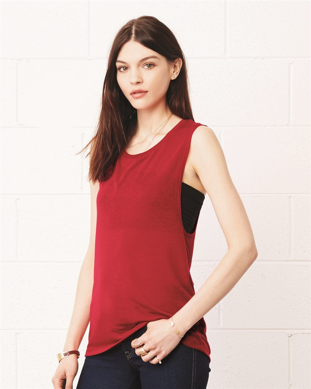 7e15c1b0d9 Bella + Canvas 8803 - Women's Flowy Muscle Tank - Wholesale and Bulk  Pricing Available