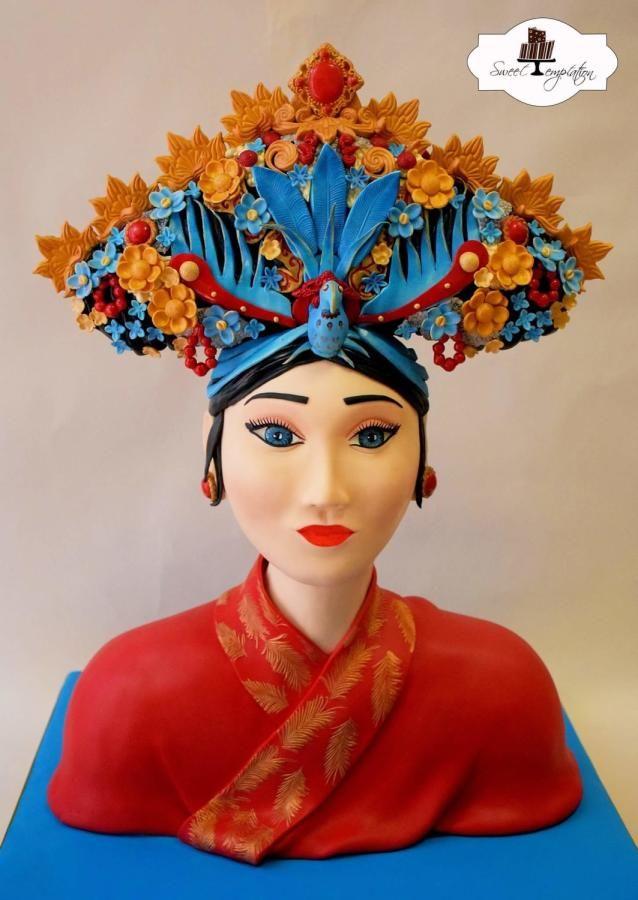 Chinese Royal Women Cake by Urszula Landowska