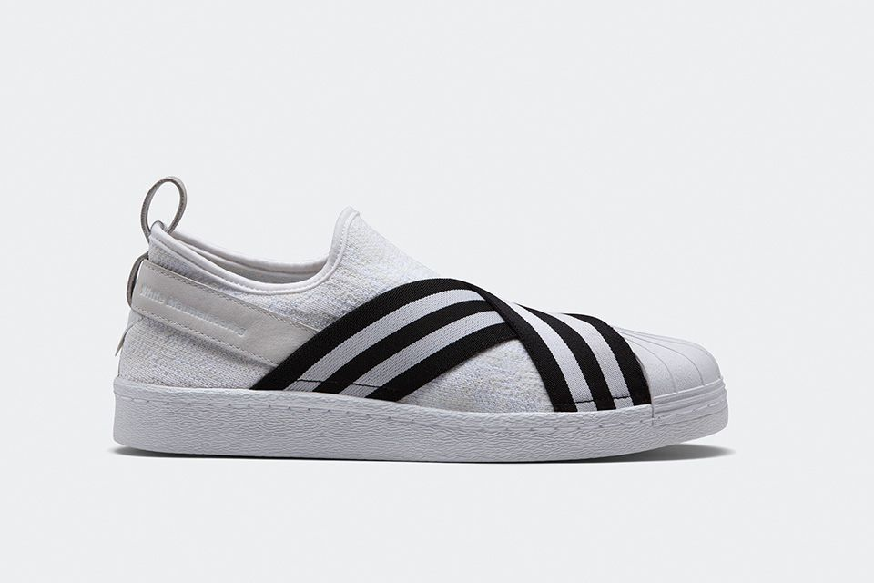 hot sale online 48ff1 fd298 Adidas Originals x White Mountaineering Superstar Slip-On ...