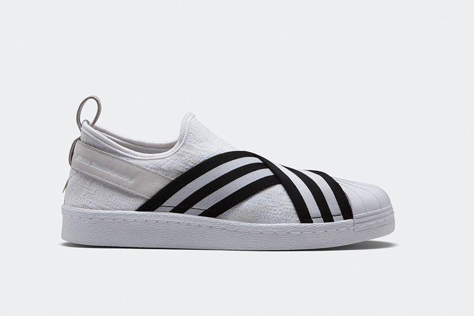adidas originals white mountaineering superstar slip on