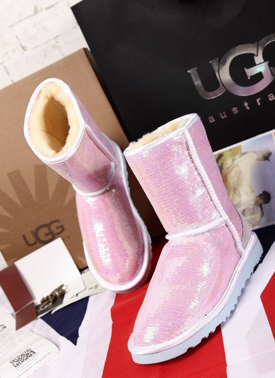 pink brand ugg boots