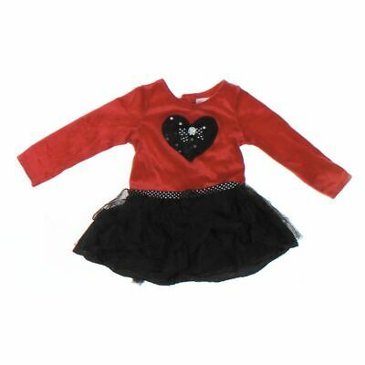 (eBay Sponsored) Youngland Baby Girls Dress size 24 mo, orange, polyester
