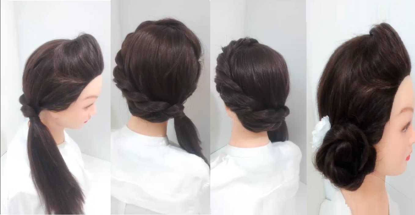 3 Easy Hairstyles For Girls With Long Hair Gorgeous Hairs