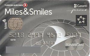 Bankovni Karty Turkish Airlines Garanti Bank Turecko Col Tr Mc 0041