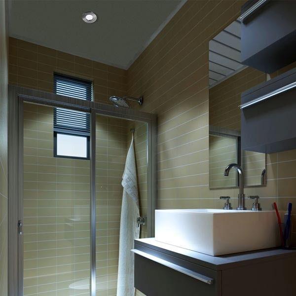 Foco empotrable estanco para el techo ip65 resitente al - Iluminacion techo bano ...