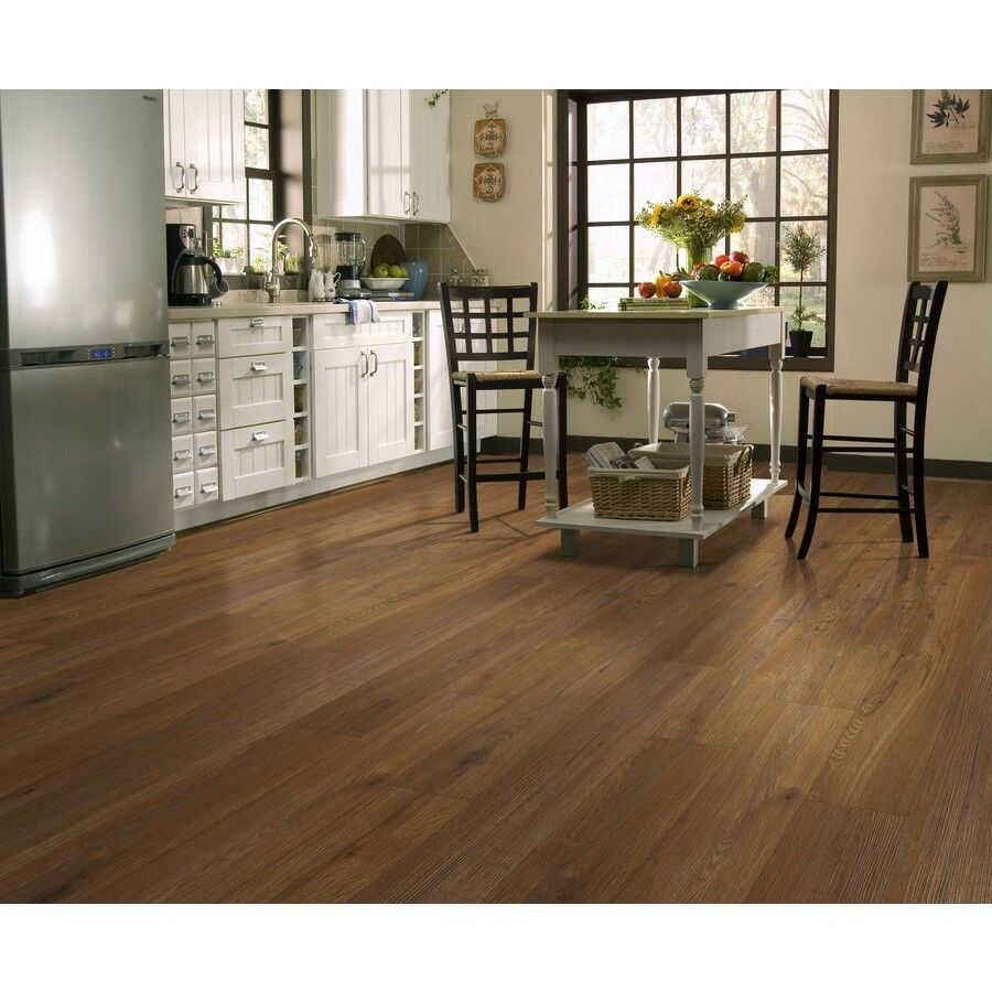 Shaw Regency Gunstock Luxury vinyl plank flooring, Vinyl