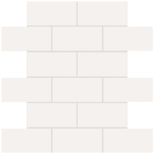 Mohawk Vivant Brick Joint Mosaic Wall Ceramic Tile 2 X 4 At Menards