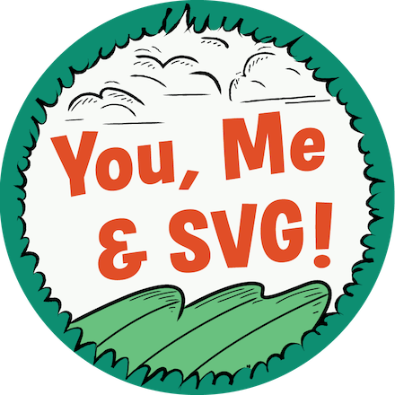 You, Me & SVG Completion Badge intermediate html and css