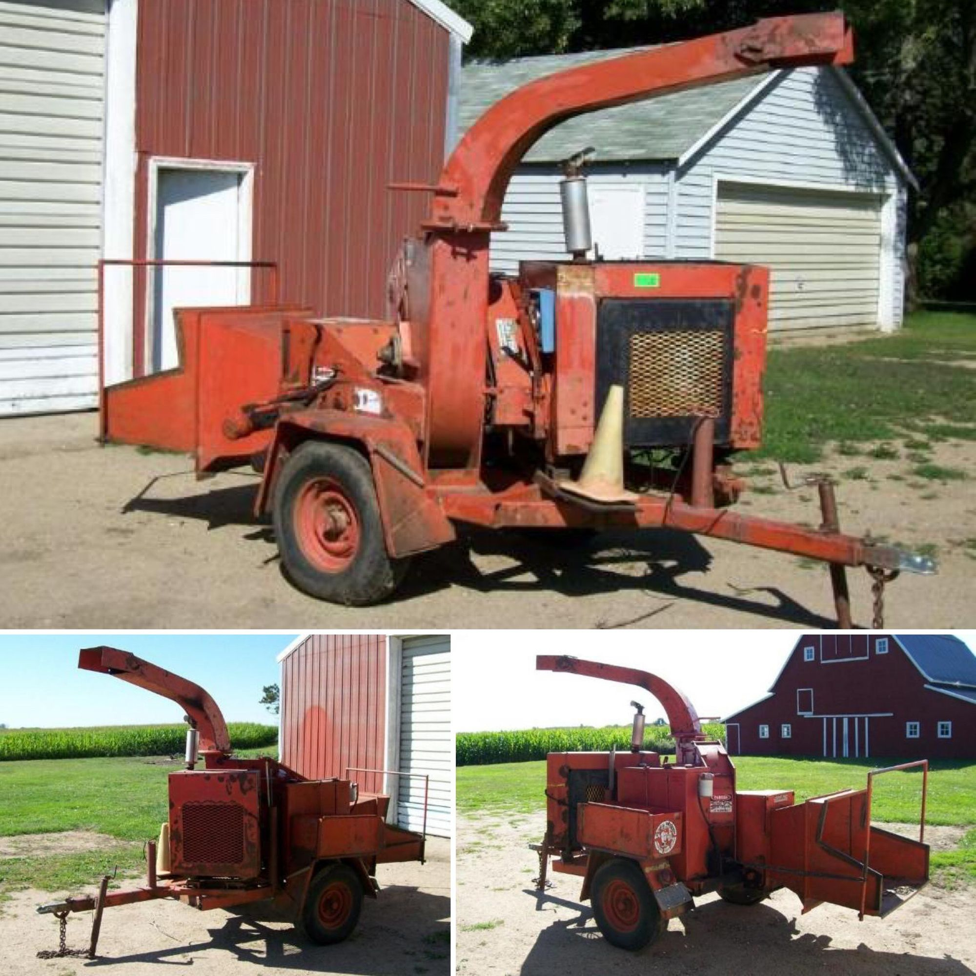 Pin by bid2buy on current auctions wood chipper