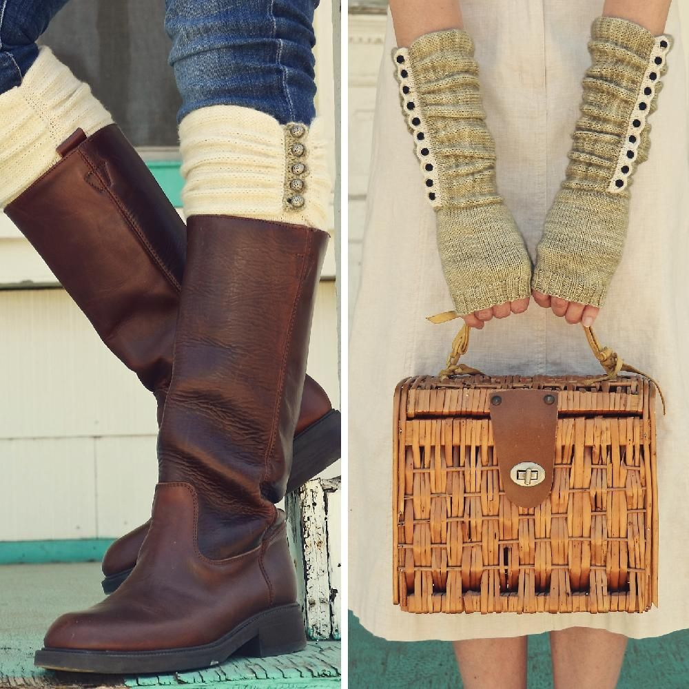 Austin Boot Liners & Mitts | Knit patterns, Boot toppers and ...