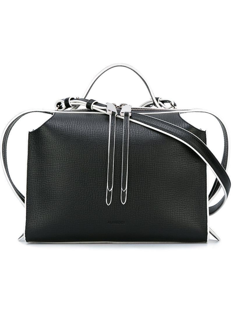 Jil Sander 'Bag Clover' shoulder bag, Women's, Black