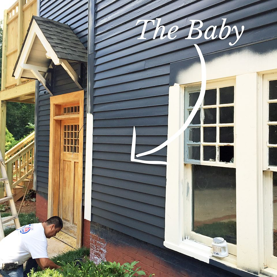 We painted the house it house paint colors exterior - Benjamin moore regal select exterior ...
