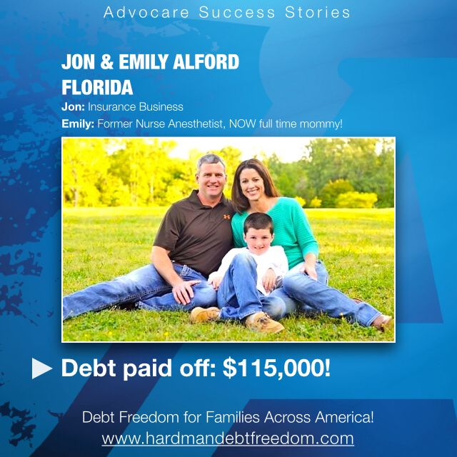 Meet our good friends Jon and Emily Alford! They're $115,000 debt-less! You can do that too