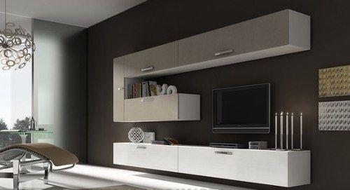 Bimax Mobili ~ Mueble panel modular vajillero lcd living progetto mobili tv stands