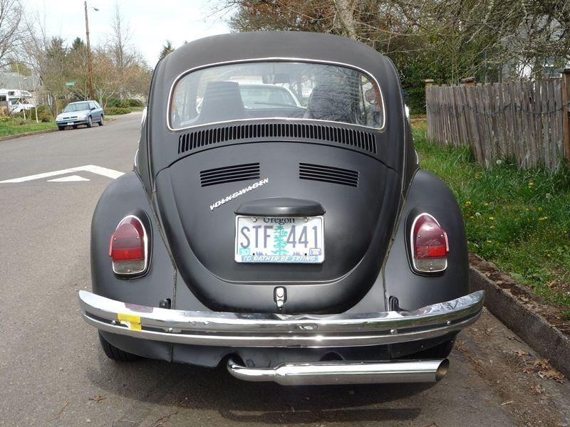 Image Of Back Vw Beetle Vintage Google Search