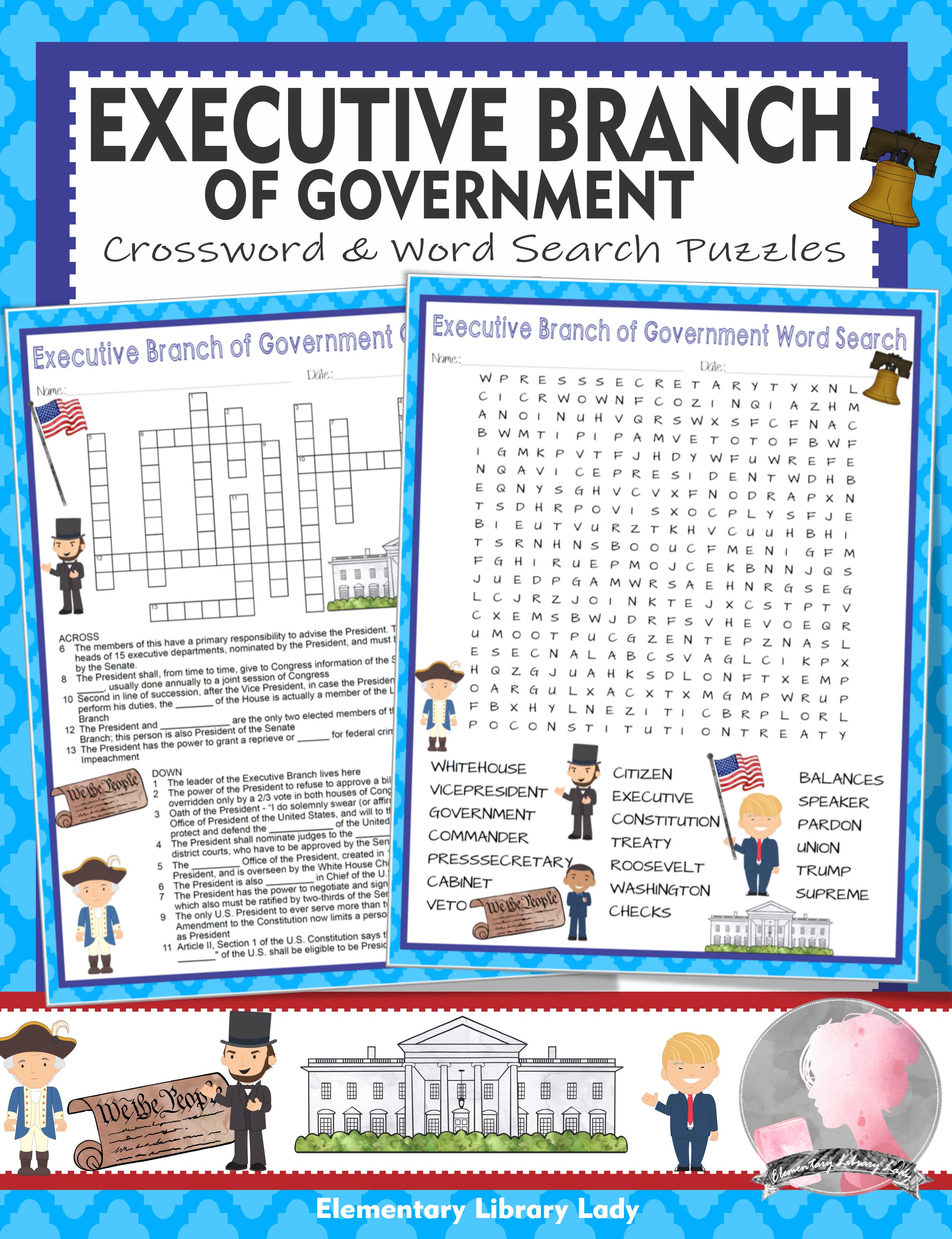 Crossword Puzzle On Indian Constitution