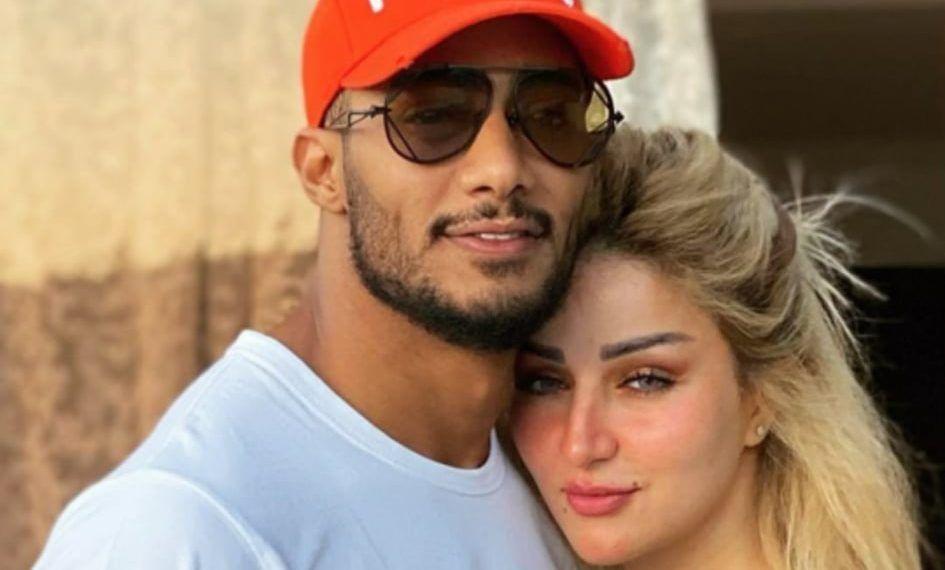 الحب الحب بلبيف بلبيف محمد رمضان وزوجته تعرض الفنان المصري محمد رمضان لهجوم من قبل نشطاء على مواقع التواصل الاجتماعي Romantic Moments Mens Sunglasses Ramadan
