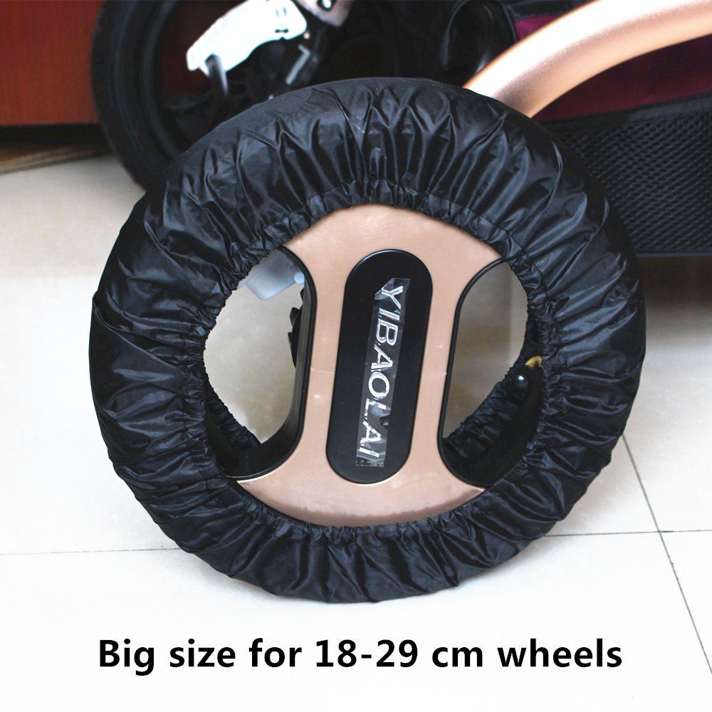 2 개 맥클라렌 Yoya 유모차 액세서리 바퀴 12 29 센치메터 휠체어 유모차 유모차 왕좌 유모차 Poussette Poussette Landau Fauteuil Roulant