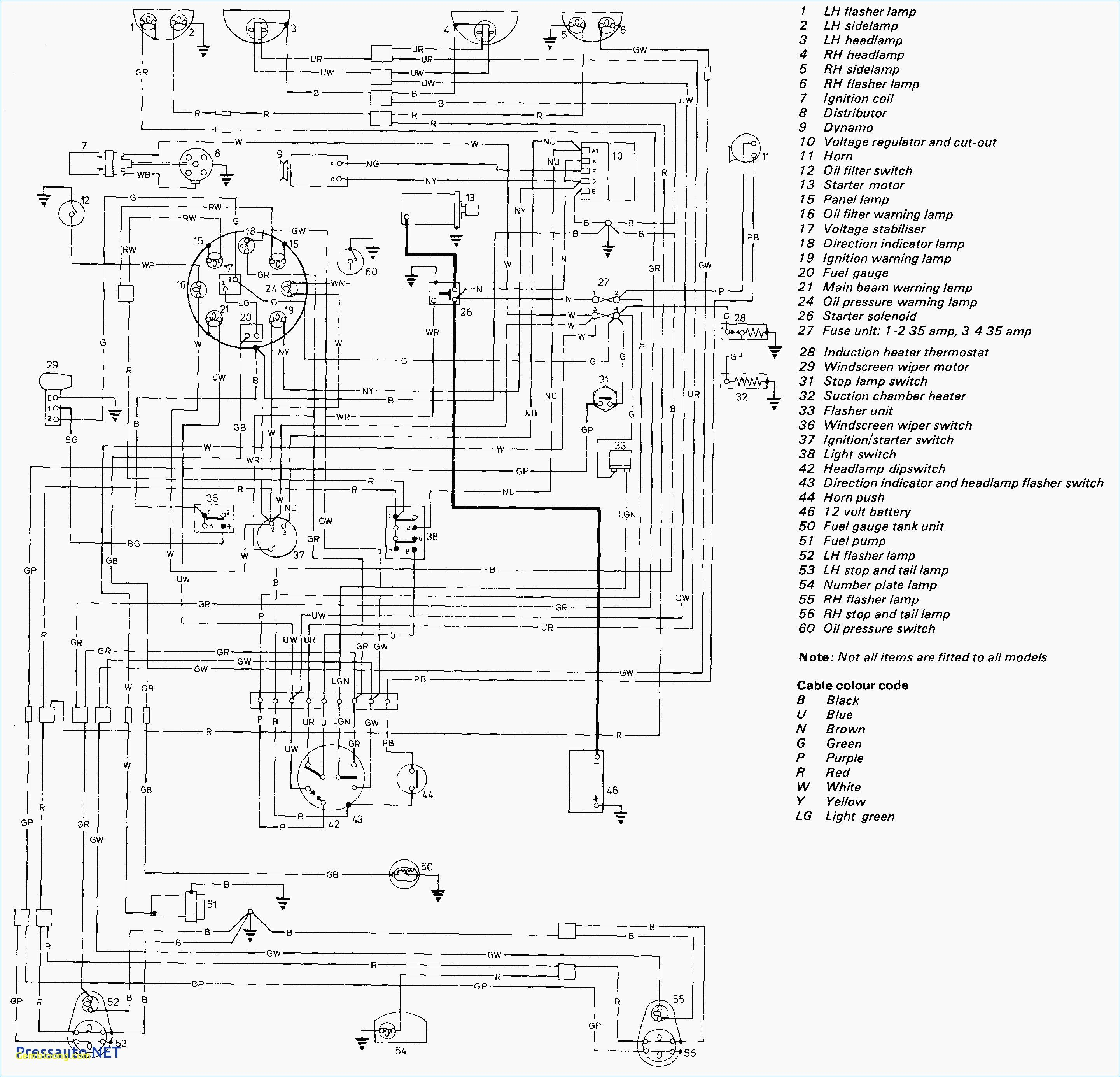 Mini Cooper Wiring Diagram
