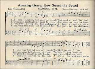Scripture Thursday Amazing Grace With Images Hymn Sheet