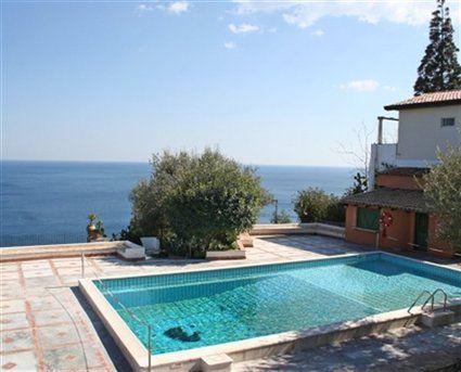 Sea views from Sicily Vacation apartments, Vacation