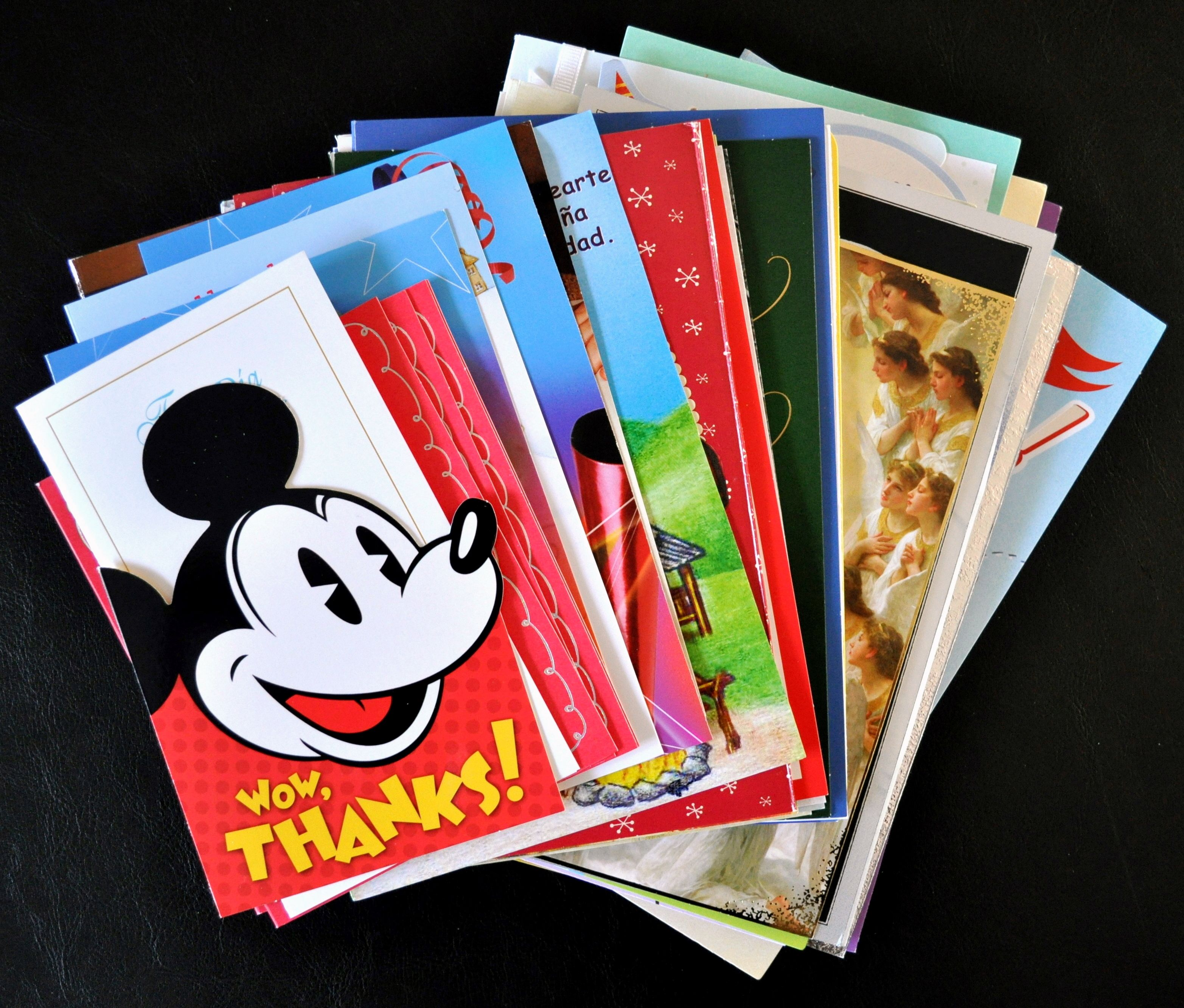 What To Do With All Of Those Holiday Greeting Cards Put Them To