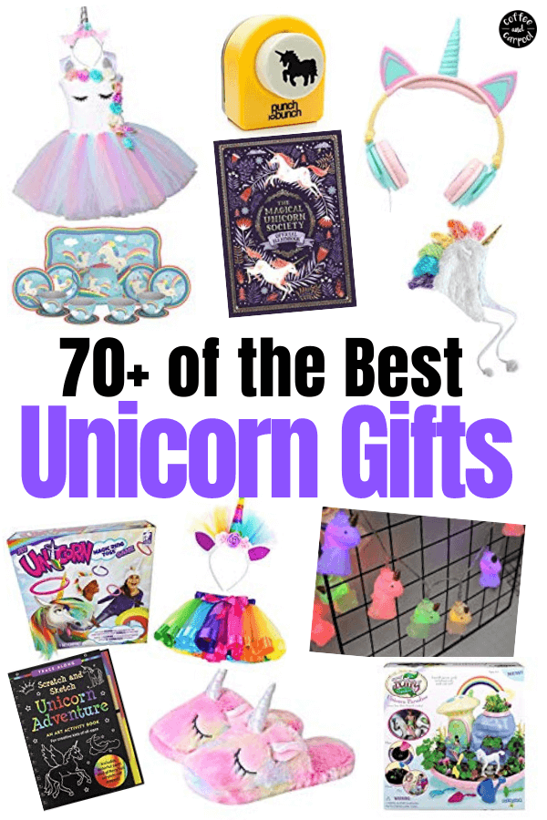 70+ of the Best Unicorn Gifts for Kids Obsessed with Them #unicorncrafts