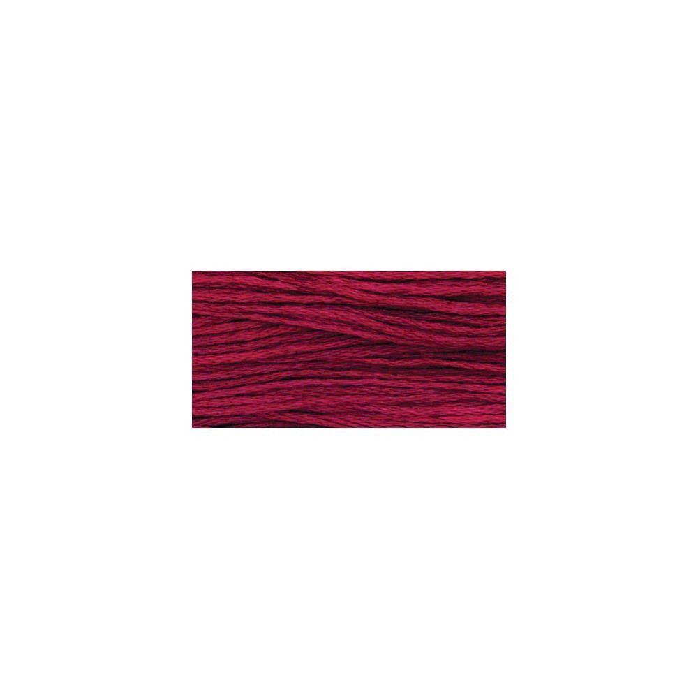 Weeks Dye Works 6-Strand Embroidery Floss 5yd-Bordeaux