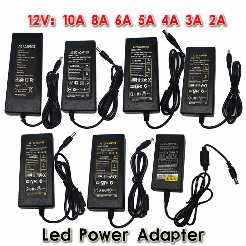 جديد امدادات الطاقة dc12v/24 فولت ac 100 فولت-240 فولت الصمام سائق محول محول محول لل 5050 5630 led قطاع الخفيفة
