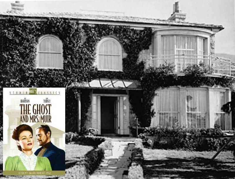Gull Cottage In The Movie The Ghost And Mrs Muir In 2020 Seaside House Stone House Charming House