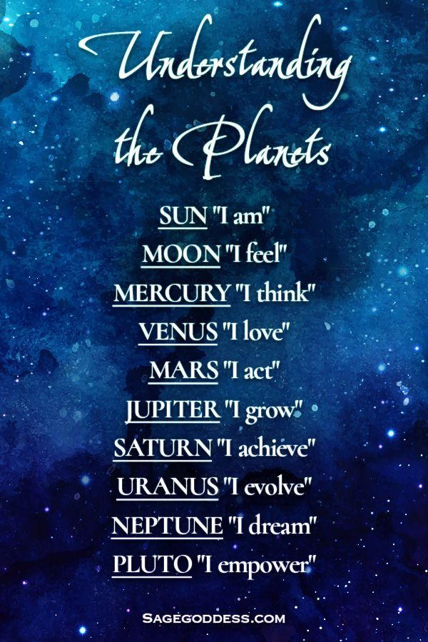 In astrology, the planets and heavenly bodies all shape how we live. Here