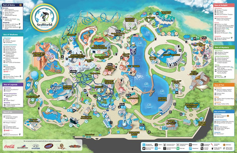 Seaworld park map seaworld orlando roller coasters pinterest seaworld park map seaworld orlando gumiabroncs Images