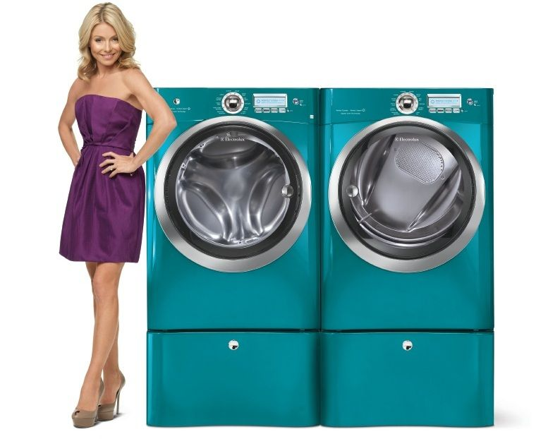 electrolux teal washer and dryer load washer electrolux washer dryer in turquoise sky want these so bad sky