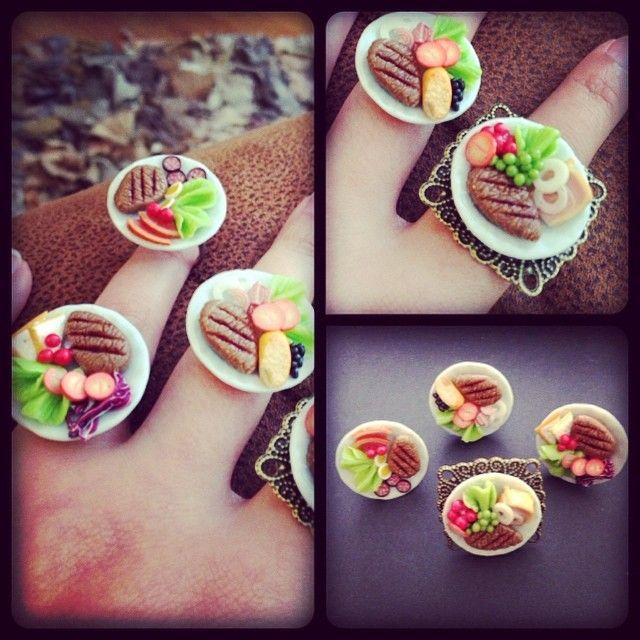 Mini steak dinner rings!