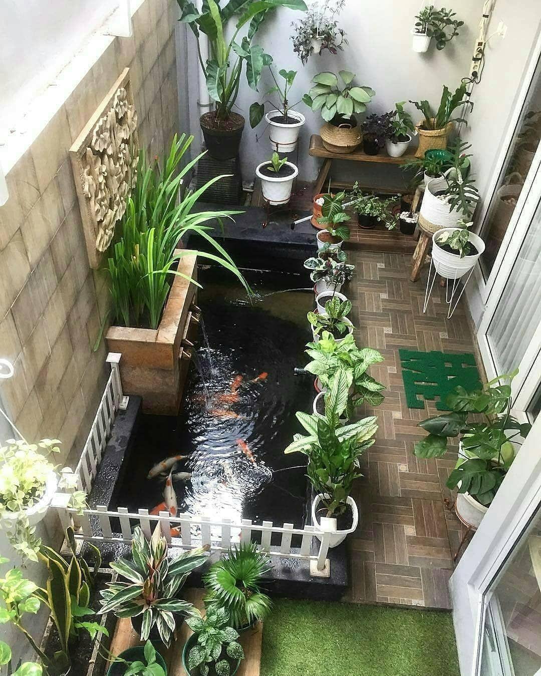 550 Desain Taman Kecil Di Samping Rumah Terbaik