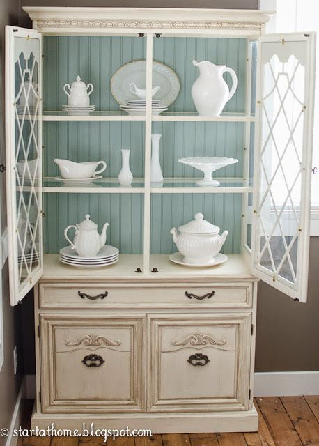Duck Egg Blue Chalk Paint® by Annie Sloan adds a dose of gorgeous ...