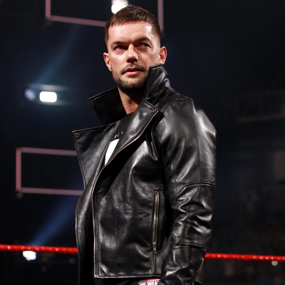 Photos Did Finn Bálor Silence The A Lister On Miz Tv Finn Balor Balor Club Leather Jacket