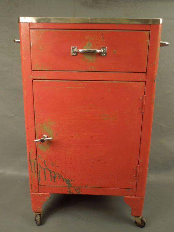 Best This Vintage Mid Century Modern Medical Equipment Cabinet 400 x 300