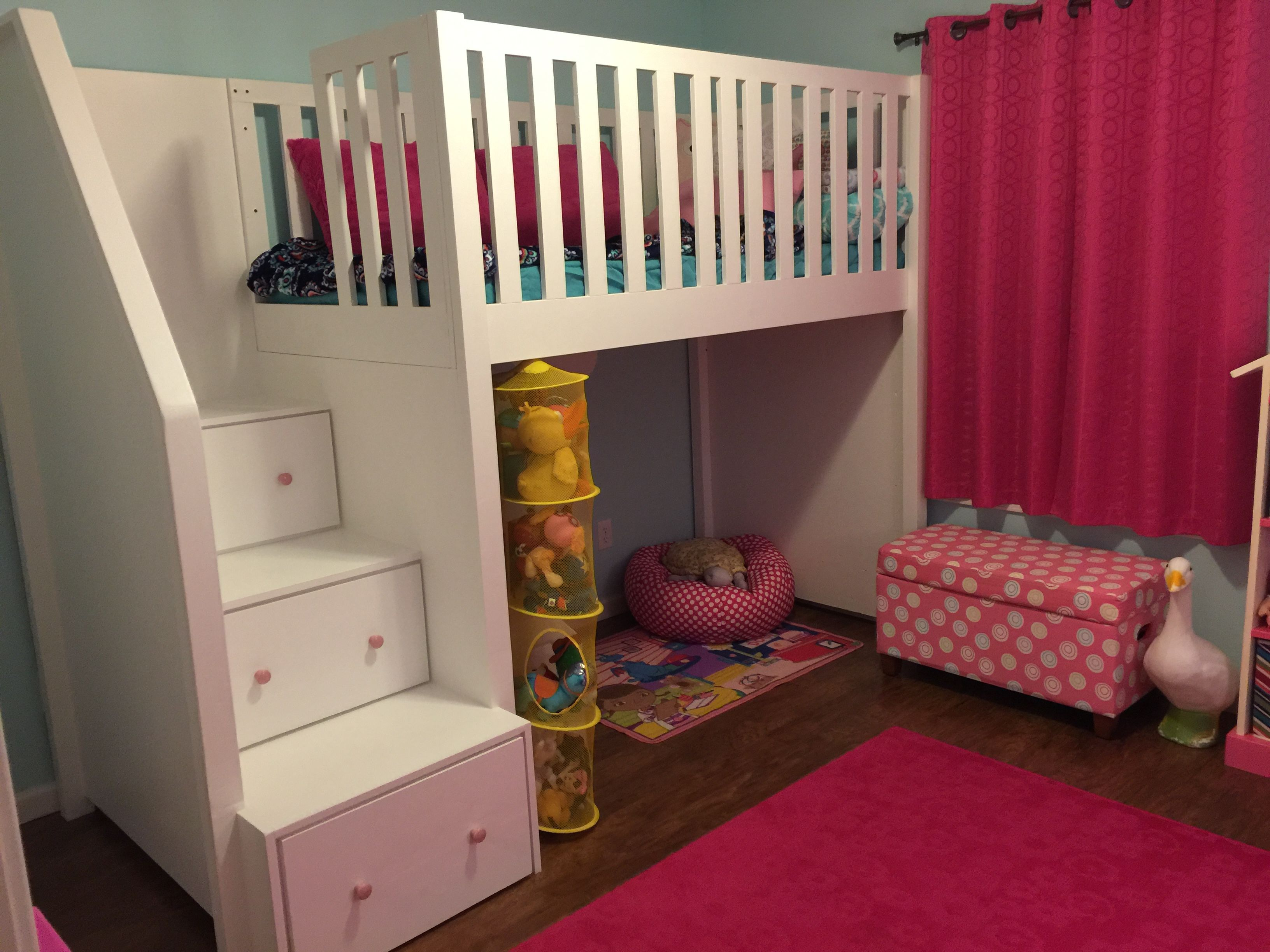 Loft Bed Do It Yourself Home Projects From Ana White Loft Bed