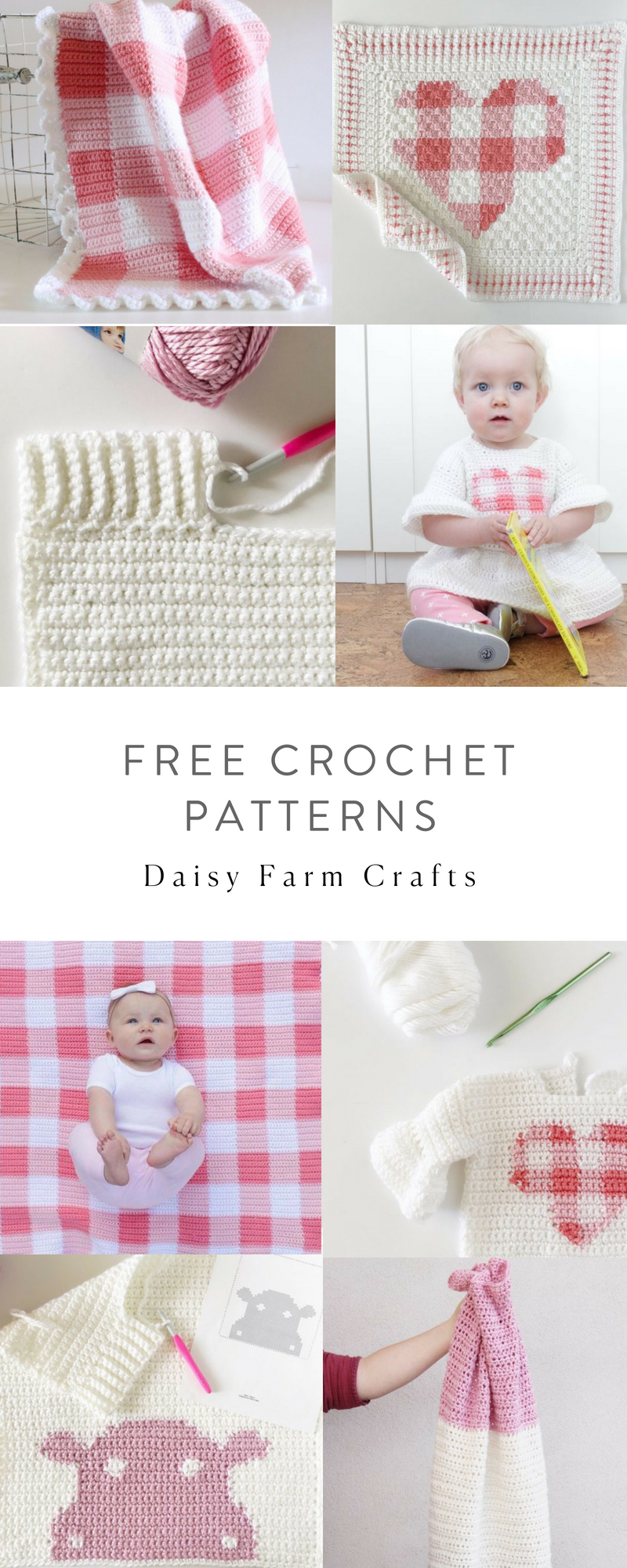 Free Crochet Patterns - Daisy Farm Crafts   crochet   Pinterest