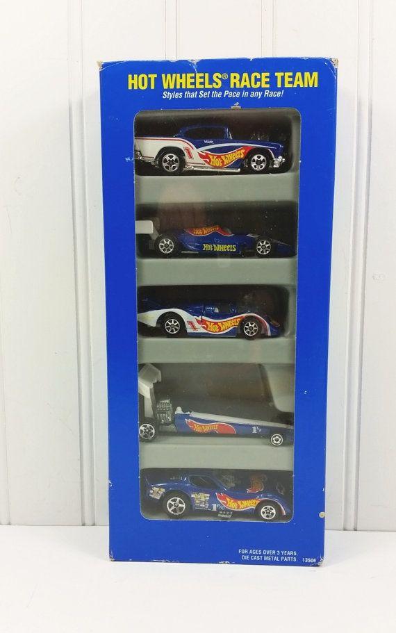 1995 Hot Wheels Race Team 5 Car Gift Pack by naturegirl22 on Etsy