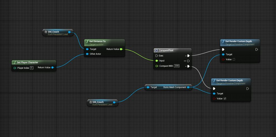 get distance to | UE4: Blueprint | Game mechanics, Game dev