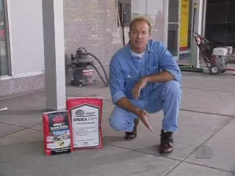 Easily Repair Your Pitted Or Spalled Garage Floor Garage
