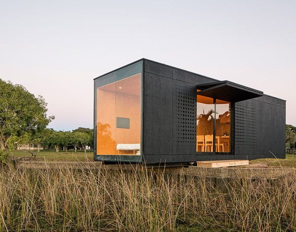 Prefab house mini modern by mapa art arhitektura for Transportables haus