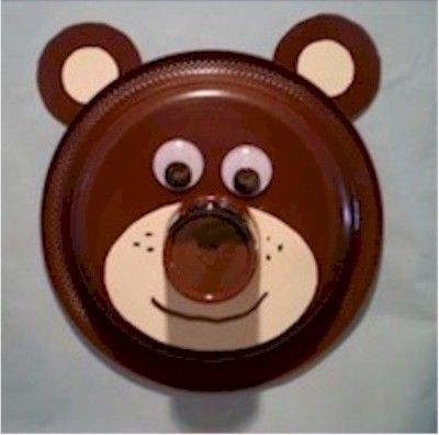 This Paper Plate Bear craft is bear-ly cute enough to stay out of hibernation & This Paper Plate Bear craft is bear-ly cute enough to stay out of ...