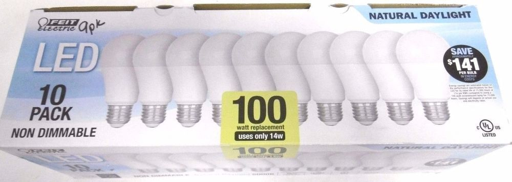100 Watt Bulbs Led 9 Pack Feit Replacement Bulbs 1500 Lumens Uses Only 14 Watts Feitelectric Bulb Watt Led
