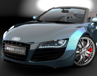 """Check out new work on my @Behance portfolio: """"Audi R8"""" http://on.be.net/1INTQ9y"""