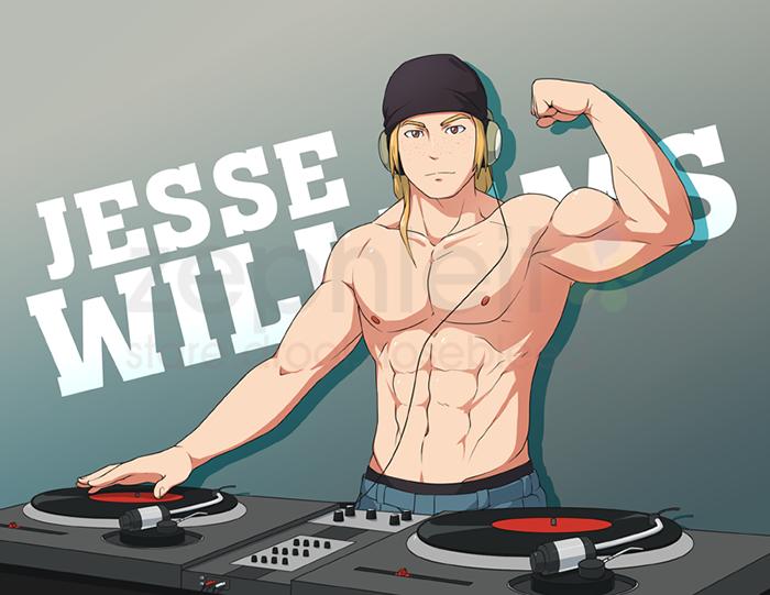 [COM B3.01] DJ Muscle By Zephleit.deviantart.com On