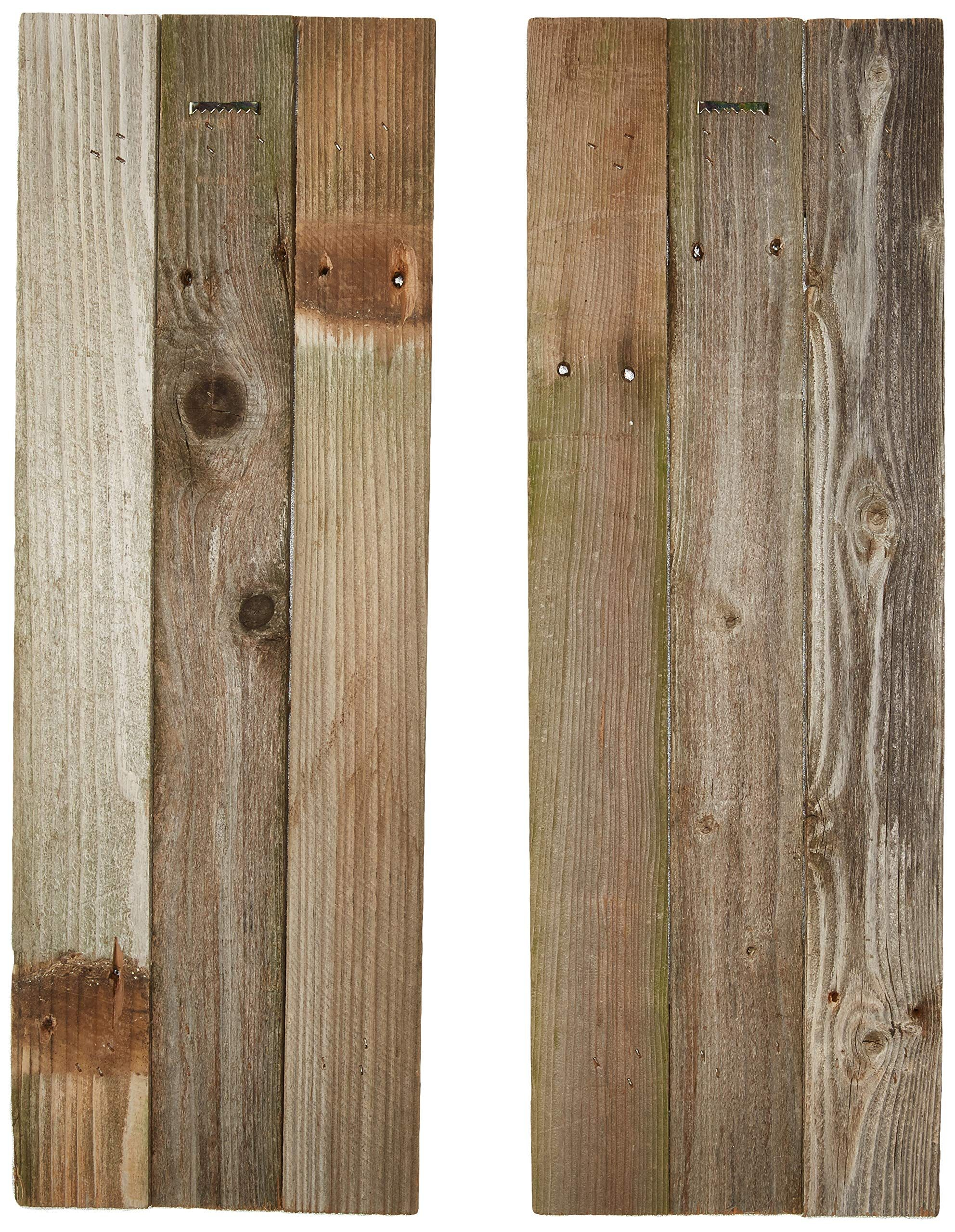 Barn Wood Rustic Decorative Shutter Set Of 2 You Can Discover Out More Details At The Web Link Of The Image This Is An Af In 2020 Barn Wood Decor Barn Wood Rustic