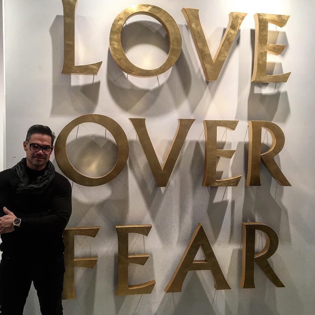 Love always wins   #loveoverfear #artmiami #abmb2017 #ArtBasel #miami